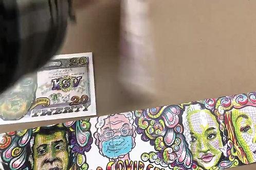 Artist Gift Card Complete Set - Seven Black