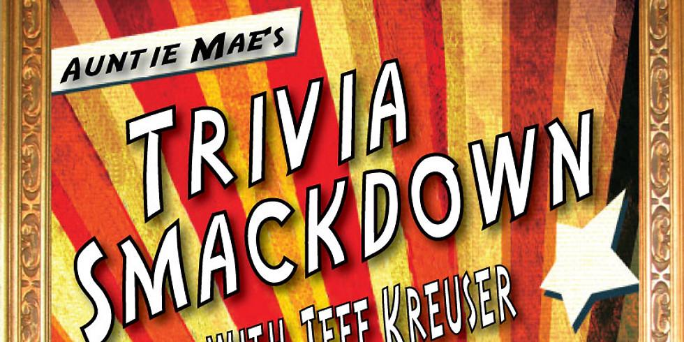 Trivia Smackdown w/ host Jeff Kreuser