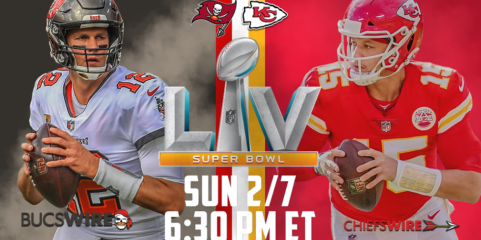 Super Bowl LV at AMP
