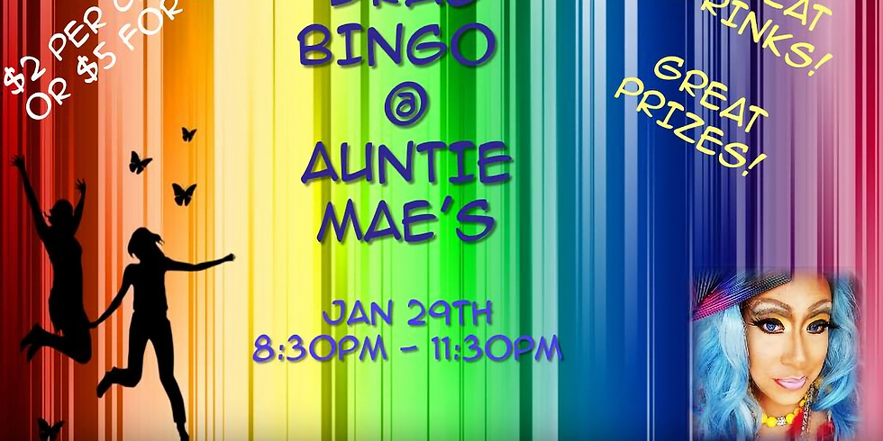 Drag Bingo at AMP