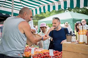 The Tomato Stall ii