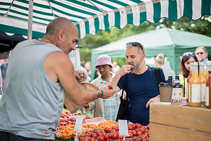 The Tomato Stall ii