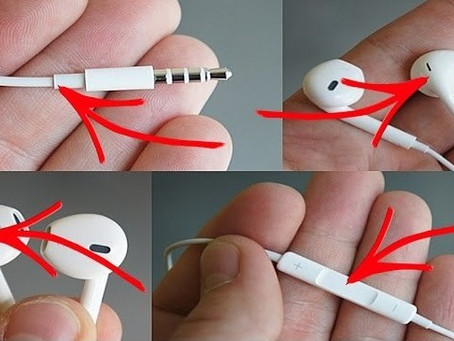 9 cosas que muchos no sabían que se puede hacer con los audífonos de un Iphone...