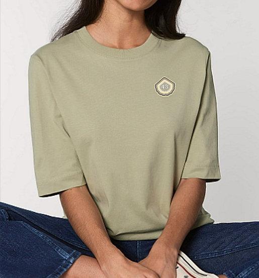 Tee-shirt épais femme Kaki ~ 43 ~