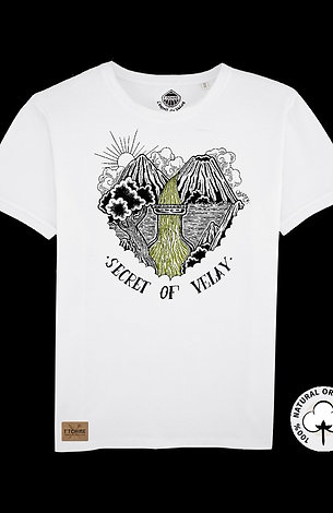 T-shirt Blanc Unisexe  Verveine