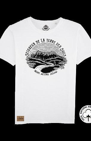 T-Shirt Blanc Unisexe  Mezenc