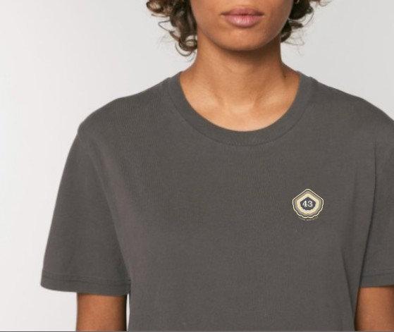 Tee-shirt UNISEXE Femme noir vintage ~ 43 ~