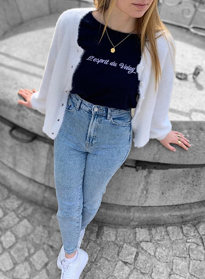 Tee-shirt femme manche 3/4 ~ L'esprit du Velay ~