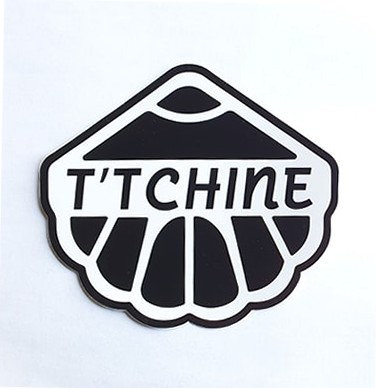 Autocollant coquille T'TCHINE