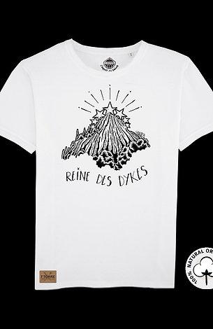 T-shirt Blanc Unisexe  Notre Dame