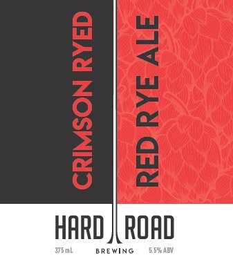 Crimson Ryed Red Rye Ale 5.5% 16-Pack 375ml Cans