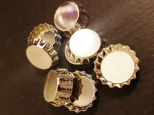 DIY Mini Kronkorken 20er Set – 12 mm Innenfläche - um Selberbasteln