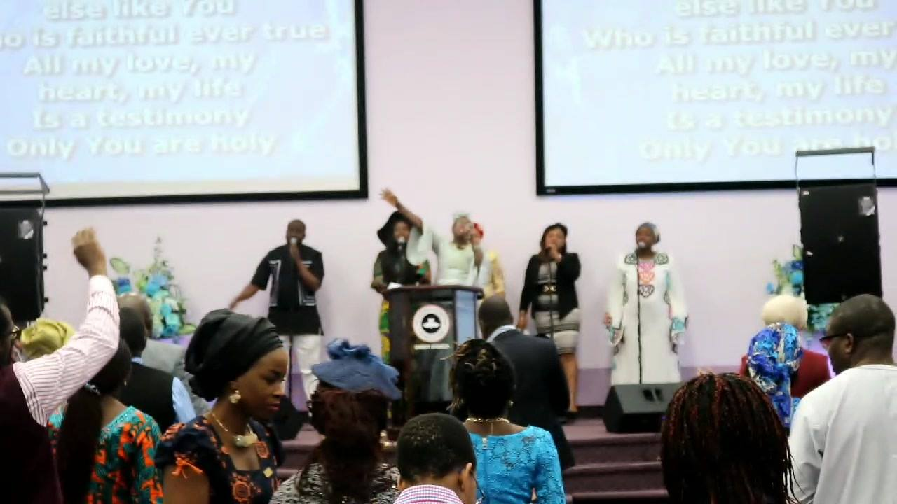 All thanks we give back to you Lord RCCG Christ Church Edmonton RCCG Canada