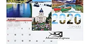 Stapled Calendar