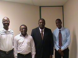 Pastors Adigun, David, Olusegun, and Adeniji