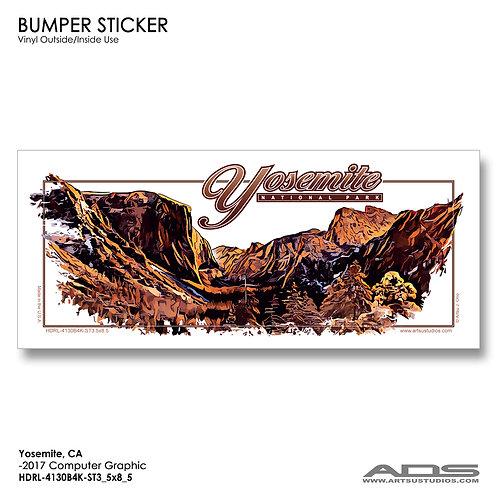 YOSEMITE: Bumper Sticker