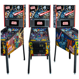 Star Wars Premium Stern Pinball Machine