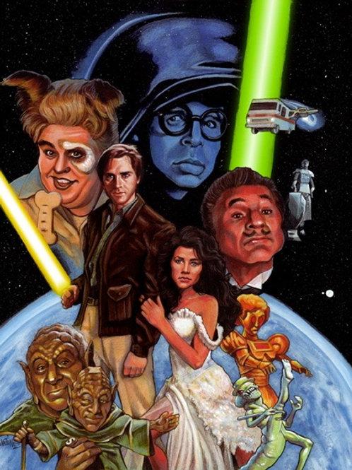 Spaceballs!- Official art for Star Wars Insider Magazine