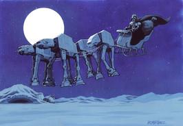 AT AT Reindeer