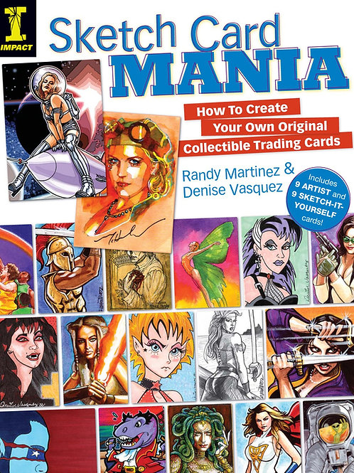 Sketch Card Mania - How to make and promote sketch cards