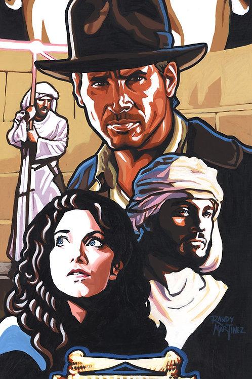 Indiana Jones: Raiders of the Lost Ark LE print