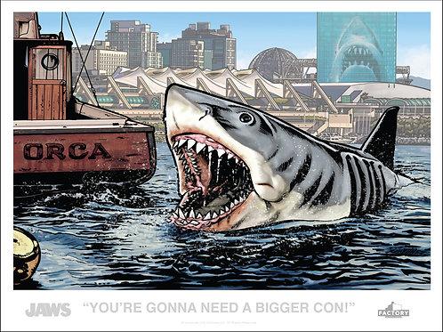 Jaws :San Diego Comic-Con Exclusive Print