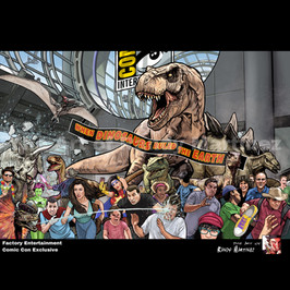 Jurassic Park: San Diego Comic Con Exclusive