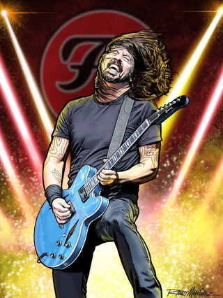 Foo Fighters-Dave Grohl