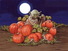 Yoda Pumpkin Patch