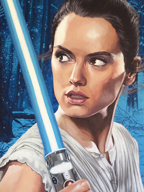Rey: Reluctant Warrior LE Print