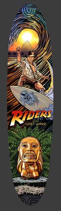 Indiana Jones Surfboard