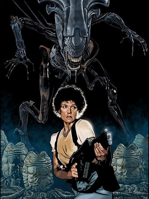 Aliens:Nemesis LE Print