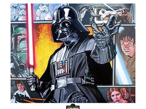 Darth Vader: Beyond Borders LE Print