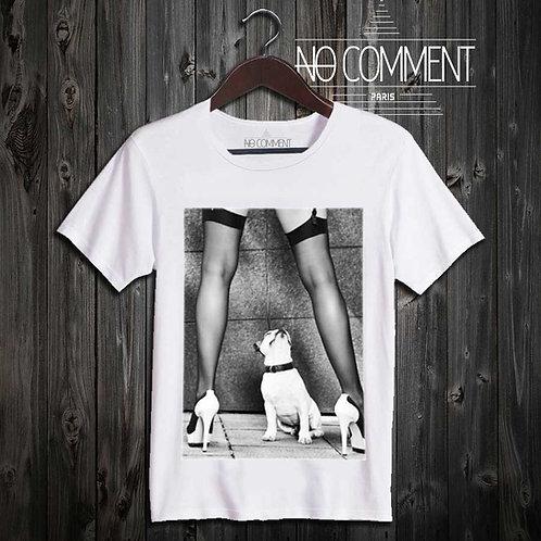 Tee shirt swag bulldog  SWA10