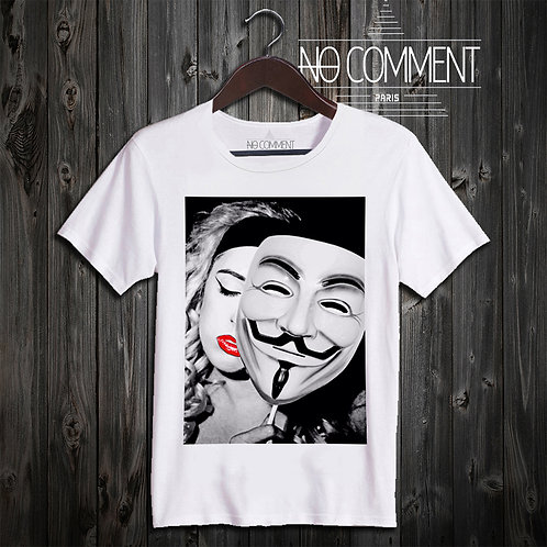 t shirt Anonimous ref: TEND05