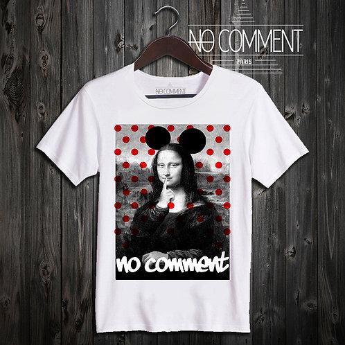 t shirt mona lisa dot ref: LTN93