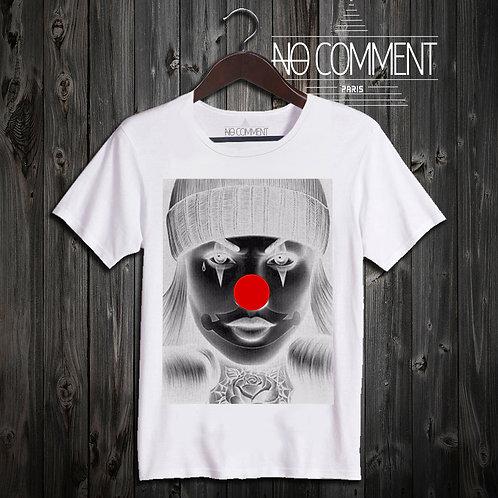 t shirt dark pierrot ref: LTN54