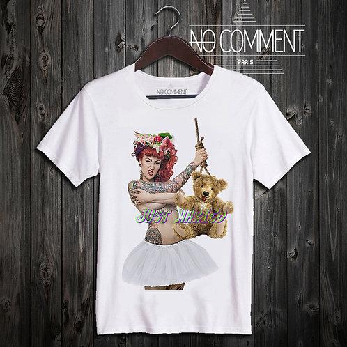 t shirt just maried ref: LTN206