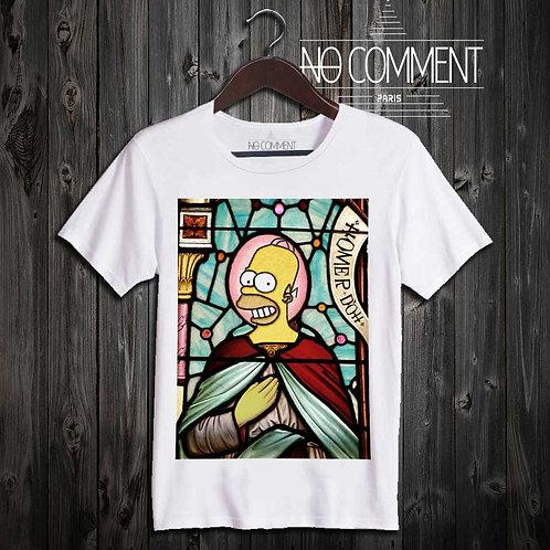 T Shirt simpson church CART14