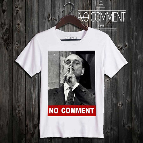 t-shirt Chirac no comment TEND07