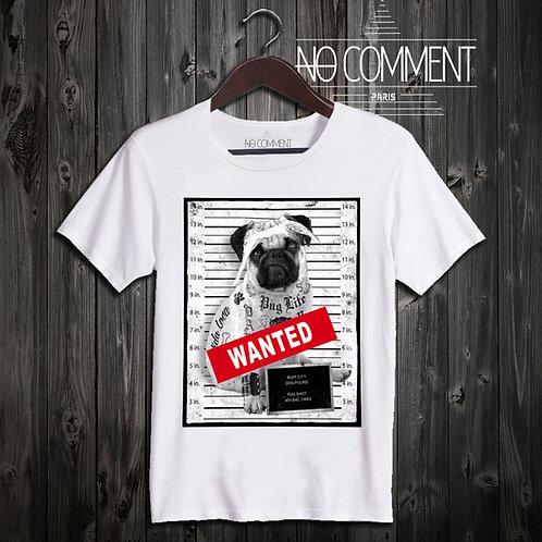 t shirt wanted dog ref: LTN64