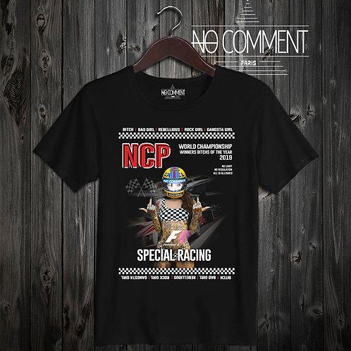 t shirt bitch racing ref: NCP05