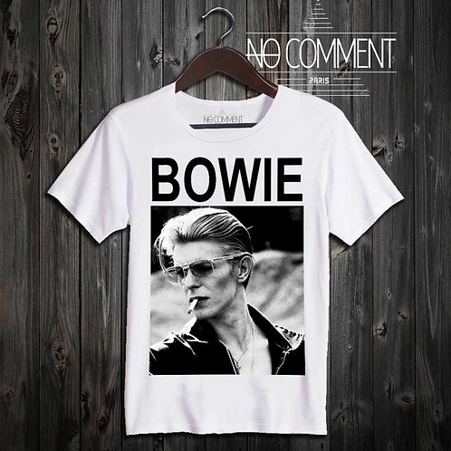 tee shirt Bowie glasses LEG01