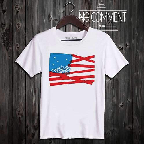 t shirt us flag ref: SOFT09