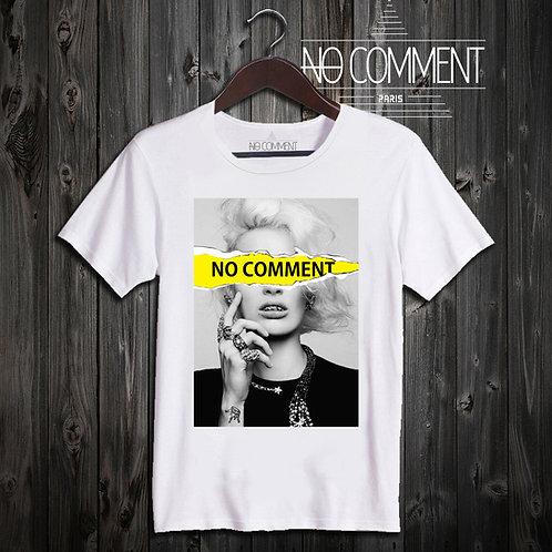 t shirt yellow tear log ref: NCLTN115