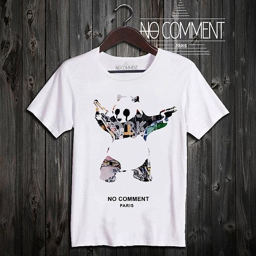 t shirt panda gun art ref: NCP328