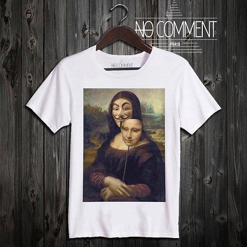 t shirt mona anonimous ref: NEW23