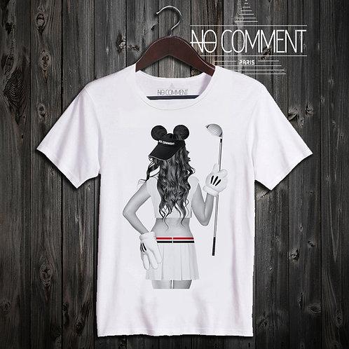 t shirt golf girl ref: LTN208