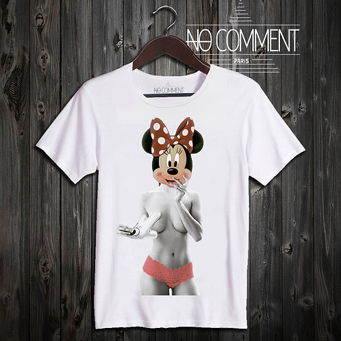T SHIRT mouse girl NEW19