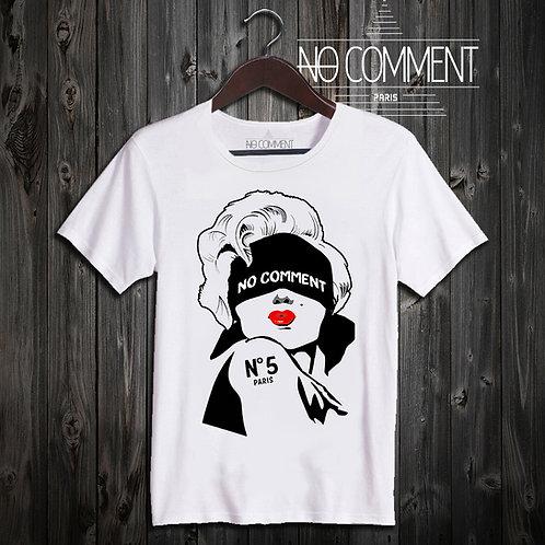 t shirt marilyn N°5 ref: LTN220